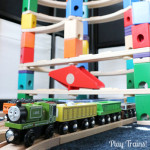 Marble Run Train Play: Quarry Cargo Drop