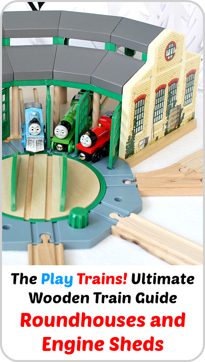 The Play Trains! Ultimate Wooden Train Guide -- Roundhouses and Engine Sheds: expert advice and product recommendations.