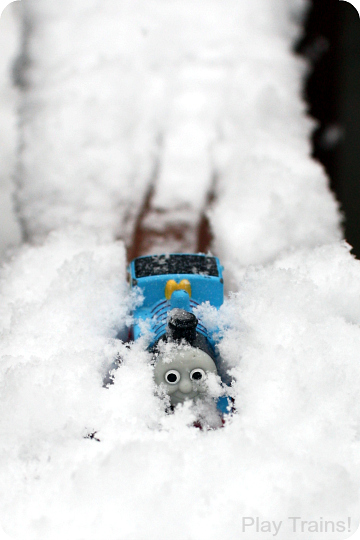 Winter Train Play in the Snow from Play Trains!