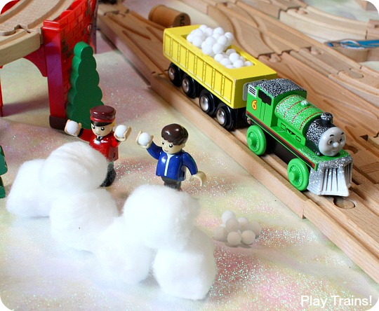 Snow For Wooden Train Layouts