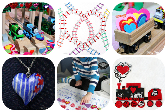 Train-Themed Valentine's Day Activities and Ideas from Play Trains!