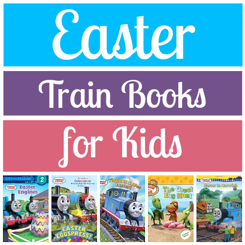 Easter Train Books for Kids