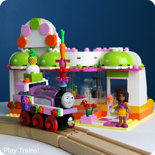 Design Your Own LEGO Wooden Train