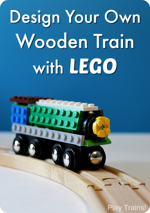 how to build your own lego train tracks