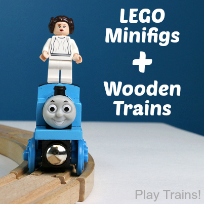 Lego Minifigures and Wooden Trains: Tips and Tricks