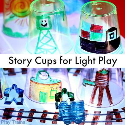 Story Cups for Light Play