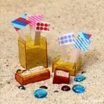 Travel-Friendly Mini Sand Castle Kit