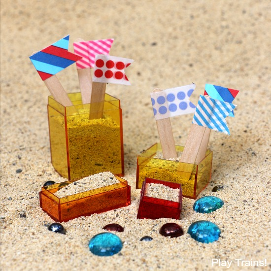 Travel-Friendly Mini Sand Castle Kit