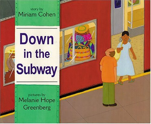 Train Books for Kids: Down in the Subway by Miriam Cohen -- a detailed review plus activity ideas!