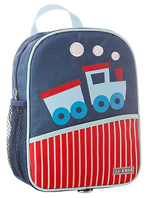 Back to School: Train Backpacks, Lunch Boxes, and More: JJ Cole Harness Backpack, Train