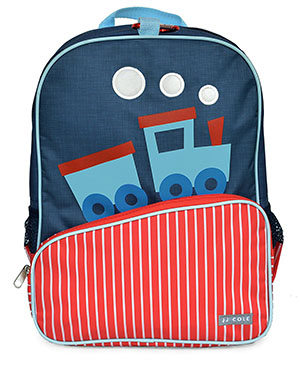 Back to School: Train Backpacks, Lunch Boxes, and More: Little JJ Cole Toddler Backpack, Train