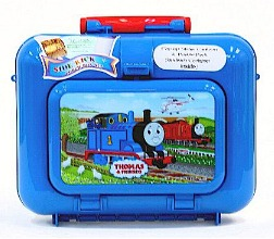 Back to School: Train Backpacks, Lunch Boxes, and More: Pecoware Thomas Side Kick Lunch Box Set