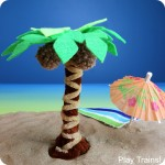 Pipe Cleaner Palm Tree Craft