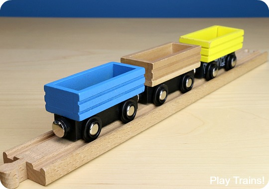 Wooden Train Freight Cars The Play Trains Ultimate