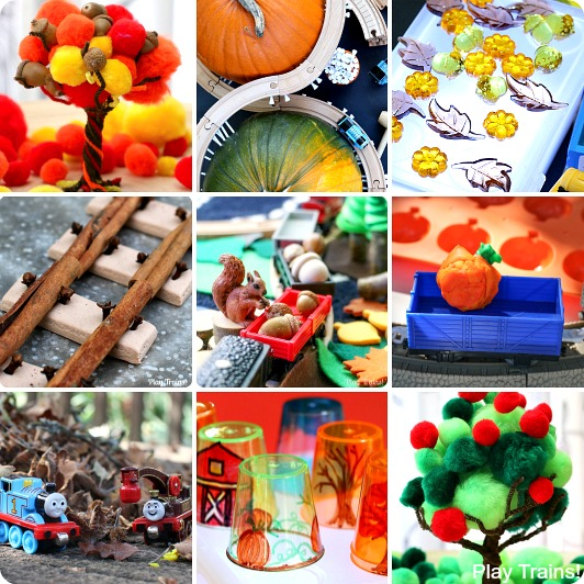 Fall Activities for Kids from Play Trains!