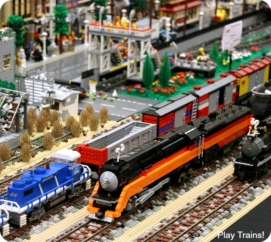 Seattle BrickCon 2014: LEGO Trains