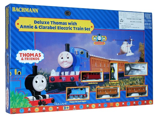 Bachmann Deluxe Thomas with Annie & Clarabel Electric Train Set