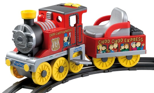 Peg Perego Choo Choo Express Ride-on Train with Track