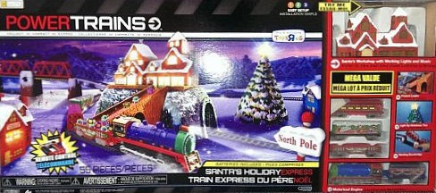 Power Trains Santa's Holiday Express Mega Set