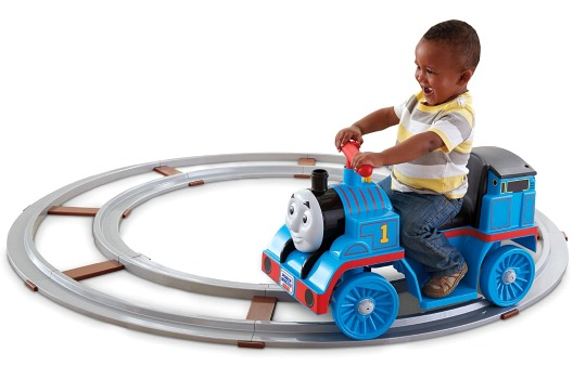 Power Wheels Thomas the Tank Engine with Track