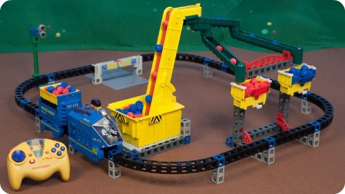 Rokenbok Monorail Mania Complete Action Set