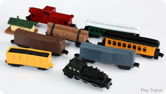 Safari Ltd. Steam Train Toob: recommended in Train Advent Calendar Gifts on Play Trains!