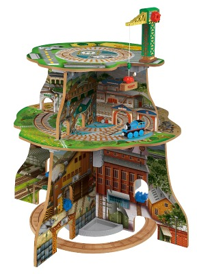 Thomas Wooden Railway Up and Around Sodor Adventure Tower