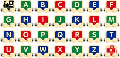Timber Toots A-Z Alphabet Train