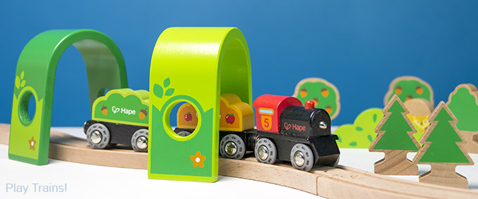 Hape Wooden Trains