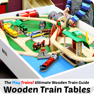 Alternatives to Gluing Wooden Train Tracks to a Train Table