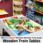 Best Wooden Train Tables for Toddlers and Preschoolers