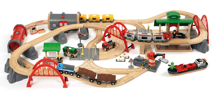 , it seems like nearly every current Brio train, train set, and train ...