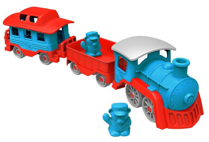 Green Toys Red and Blue Train