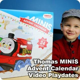 Thomas MINIS Advent Calendar Video Playdates from Play Trains!