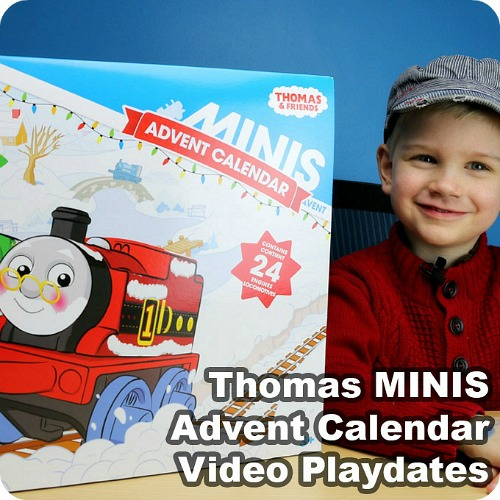 Thomas MINIS Advent Calendar Video Playdates from Play Trains!