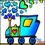 Free Printable Train Valentines