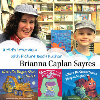 A kid's interview with picture book author Brianna Caplan Sayres