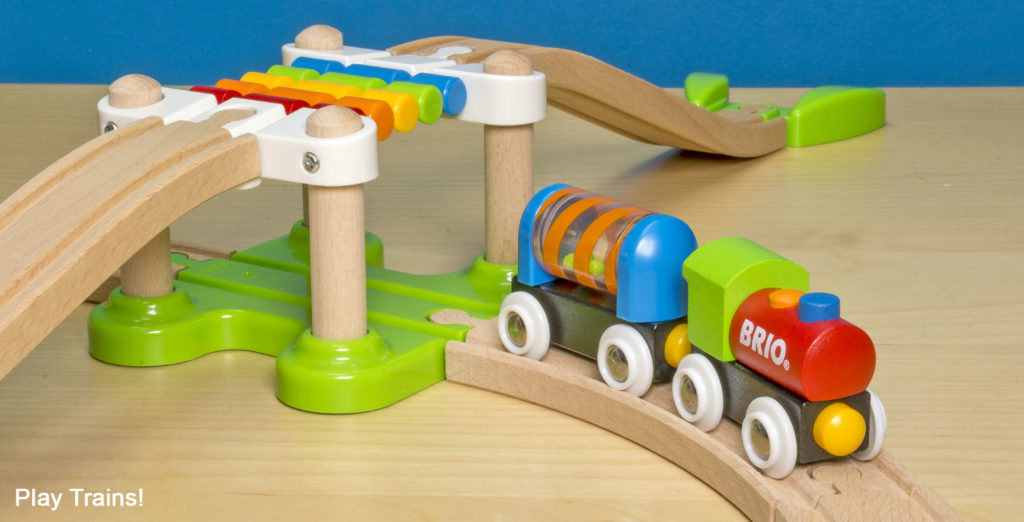 BRIO My First Railway Beginner Pack Train Set -- The Play Trains! Guide to Wooden Train Sets: expert advice on the best wooden train set to buy for your little engineer.