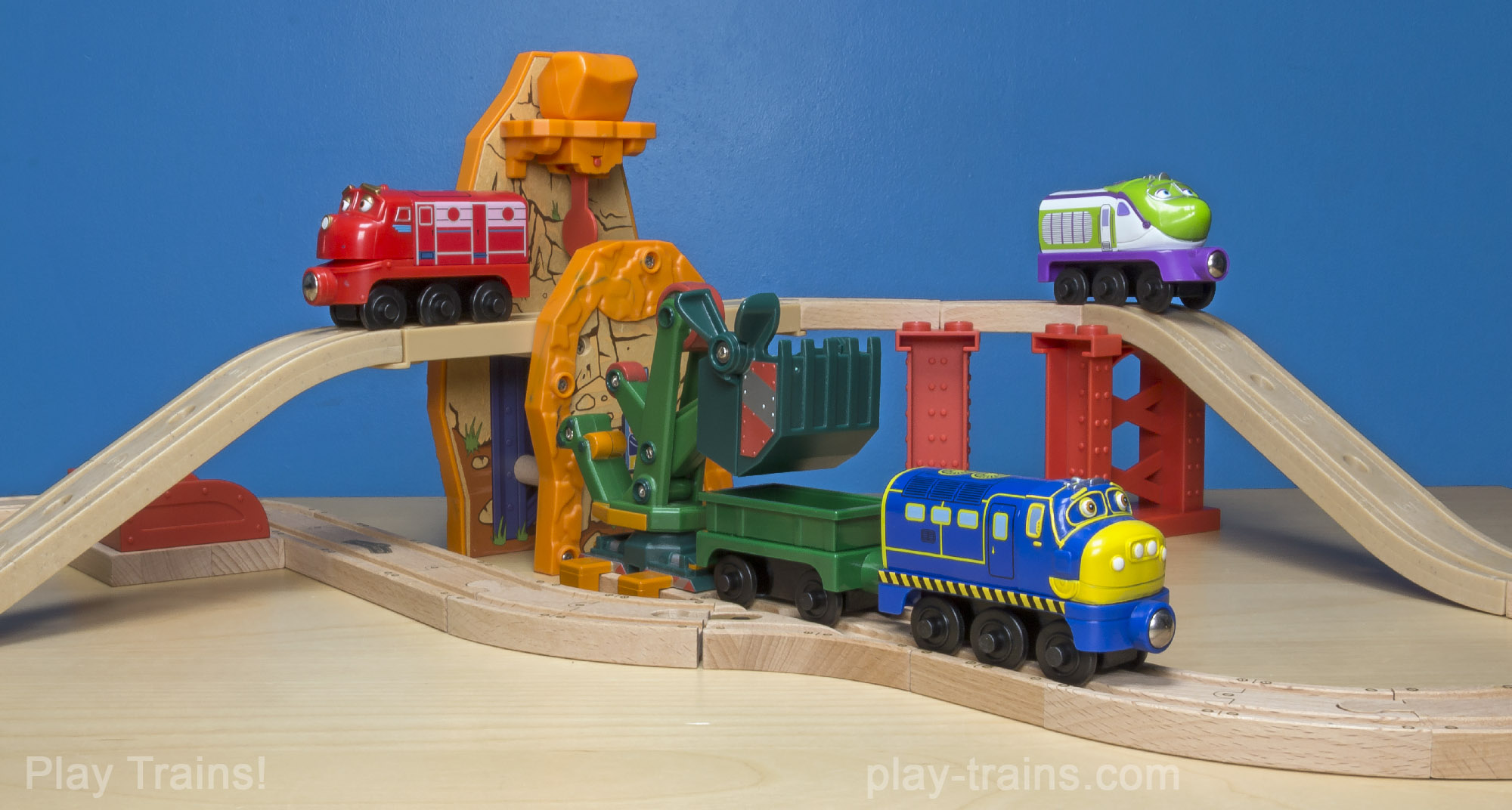 Chuggington Wooden Railway -- The Play Trains! Guide to Wooden Train Sets: expert advice on the best wooden train set to buy for your little engineer.