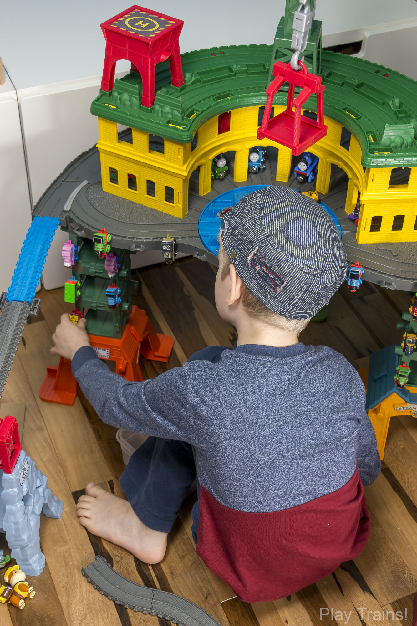 Thomas & Friends Super Station  -- The Play Trains! Guide to Wooden Train Sets: expert advice on the best wooden train set to buy for your little engineer.