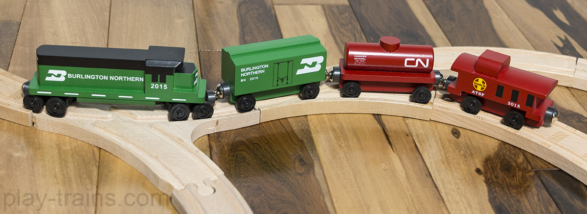 Handcrafted, realistic wooden trains: a review of Whittle Shortline Railroad