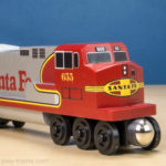 Whittle Shortline Railroad Review: Realistic Wooden Trains